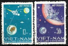 Viet  Nam Space Stamp Set #429 - 430 CTO Cancelled