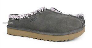 UGG Tasman Mole Suede Fur Slippers Womens Size 8 *NIB*