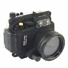 Meikon 40M Waterproof Underwater Housing Case for Sony NEX-5R NEX-5T 16-50mm