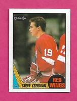 1987-88 OPC # 56 RED WINGS STEVE YZERMAN EX-MT CARD (INV# D0206)