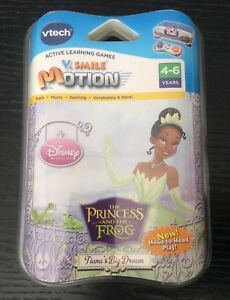 Vtech Vsmile Motion NIP The Princess And The Frog Educational Game 4-6 Years