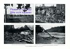 Battlefield of East Prussia 1914 XL page with 4 photo images German soldiers +