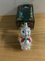 Merck Family's OLD WORLD CHRISTMAS ORNAMENT Poodle Snowman