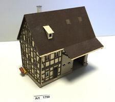 Vollmer 20391 H0 Bauernhaus mit Scheune, Schornstein mit Rauchgenerator, 1:87
