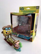 SpongeBob SquarePants Sledding with Gary PlayImaginative with box Displayed Sled