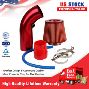 """1 Set Cold Air Intake Filter Pipe Diameter 3"""" Clamp Accessories for auto truck"""