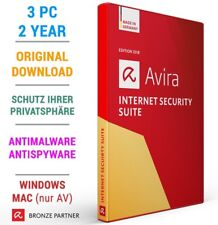 AVIRA INTERNET SECURITY SUITE 3 PC 2 Jahre 2019