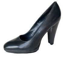 Calvin Klein Gabby Dark navy Platform Heels Shoes 7.5