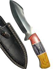 Custom Handmade D2 Steel Fixed Blade Survival  Tracker Skinner Knife