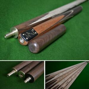 """58.5"""" Handmade Multi-Spliced Rosewood Snooker Cue with North American Ash Shaft"""