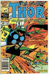 Thor #366 (1962) - 8.0 VF *Classic Frog-Thor Story* Newsstand