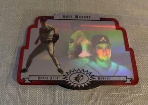 1996 Upper Deck SPx #1 Greg Maddux (HOF) Atlanta Braves