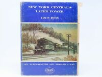 NYC New York Central's Later Power 1910-1968 by Staufer & May ©1981 HC Book