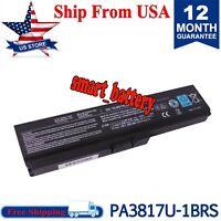 Battery For Toshiba Satellite L750 L700 L635 L640 L650 L735 L775 PA3817U PA3818U