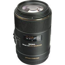 Sigma 105mm f/2.8 EX DG OS HSM Macro Lens for Canon EOS Cameras 258101