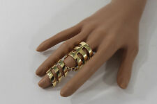 Band Fashion Geometric Claws One Size New Women Metallic Golf Long Ring Metal