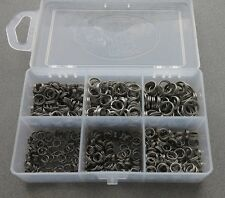 550 Piece Stainless Steel Split Ring Assortment Assorted Rings Fishing Tackle US
