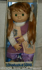 K-MART CIRCLE OF FRIENDS BIG HUGGABLE KIDS OLIVIA GIRL RED HAIR DOLL TOY IN BOX