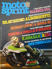 Motosprint 37 1981 Test Yamaha 400 SE Special - Inserto Alano Montanari  [SC.31]