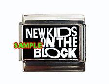 New Kids On The Block Logo #1 Custom Italian Charm!