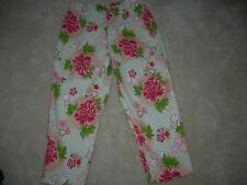Fibers Barbara Lesser  Capri  Pants Size 10