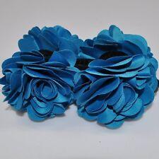 Hair clip 2 Flowers Satin Braid holder Hair accessories hair clip hair clip NEW