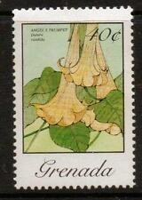 GRENADA SG1417a 1982 40c NATIVE FLOWERS   MNH