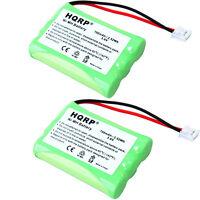 2x HQRP Phone Battery for VTech VT-i6700 BATT27910 DS4121-3 DS4121-4 DS4122-3