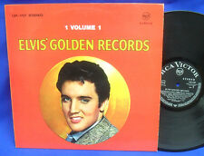 LP ELVIS PRESLEY - GOLDEN RECORDS // GERMAN BLACK RCA VICTOR LSP 1707