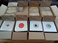 "Any 1 box of 60 x 7"" Records Vinyl Singles Job Lot Various 70's 80's & 90's"