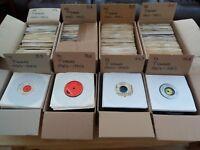 """Any 1 box of 60 x 7"""" Records Vinyl Singles Job Lot Various 70's 80's & 90's"""