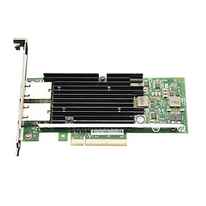 HP 561T Dual-Port 10GB RJ-45 PCIe Network Interface Adapter