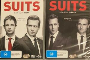 Suits : Season 2 & 3 (DVD, 2014, 8-Disc Set)  BRAND NEW