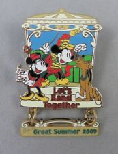 Disney DLR Pin - Cast Member - Great Summer 2009 - Mickey and Minnie Mouse