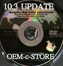 07 08 2009 2010 CADILLAC ESCALADE ESV EXT NAVIGATION MAP CD DISC DVD 10.3 UPDATE