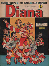 Diana Magazine No. 488 24 June 1972   Glen Campbell   Tom Jones   Robin Nedwell