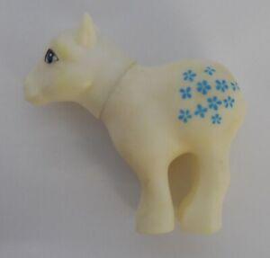 My Little Pony Vintage White Blossom Squeaky butt original BISANTI rare!!