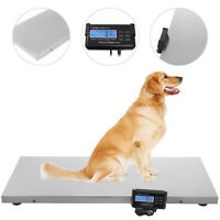 660LB Digital Livestock Vet scale Hog Pet Dog Sheep Shape Heavy Duty Weight Diet