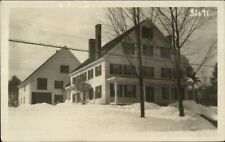 Home in Winter - Meredith NH Cancel c1915 Real Photo Postcard