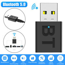Bluetooth 5.0 Transmitter & Receiver Audio Wireless Adapter 3.5mm A2DP TV Stereo
