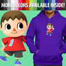 Super Smash Bros Animal Crossing Boy Villager Pullover Sweatshirt Hoodie Sweater
