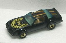Hot Wheels 1977 Black Hot Bird Pontiac Firebird  HTF Rare Hong Kong Base L@@K