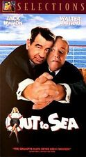 Out To Sea~Jack Lemmon~Walter Matthau~VHS~VG Condition~Fast 1st Class Mail