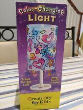 Color Changing Light - Creativity For Kids - Nib