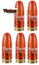 Tipton Snap Cap Polymer    9mm Luger   Pack of  5   # 303958   New!