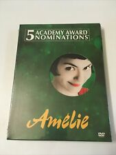 Amelie (Dvd, 2002, 2-Disc Set) New Sealed Free Shipping