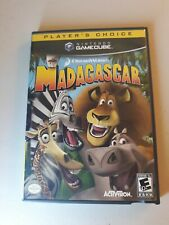 Dreamworks Madagascar (Nintendo GameCube, 2005) Complete with manual