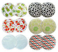 Cloth Nursing Pads - Washable, Reuseable, Eco, Bamboo, Waterproof NEW DESIGNS!