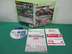 Xbox360 -- WORLD SOCCER Winning Eleven 2010 -- JAPAN. GAME. Work. 54728