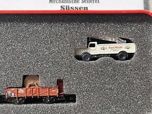 "Marklin Z 2003 Museum Wagon ""Carl Stahl"" in Tin - LNIB"